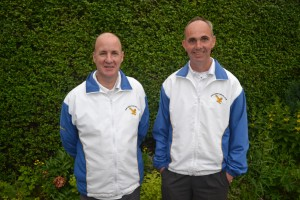 Stan Christie & Davie Scott 2014 Bowls Scotland District 14 Pairs Winners